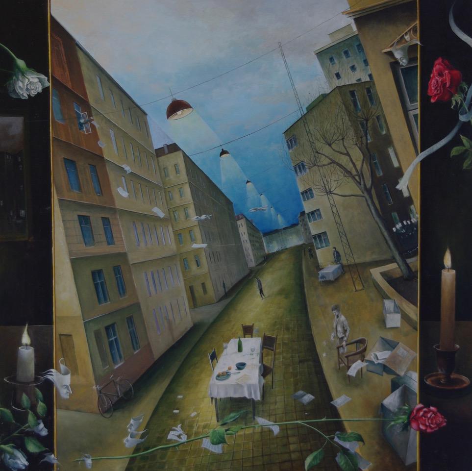 »Februar«/»Winter in der Stadt«, Benjamin Kerwien
